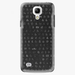 Plastový kryt iSaprio - Ampersand 01 - Samsung Galaxy S4 Mini