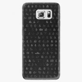 Plastový kryt iSaprio - Ampersand 01 - Samsung Galaxy S6 Edge