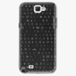 Plastový kryt iSaprio - Ampersand 01 - Samsung Galaxy Note 2
