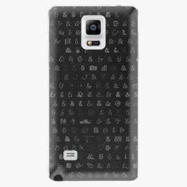 Plastový kryt iSaprio - Ampersand 01 - Samsung Galaxy Note 4