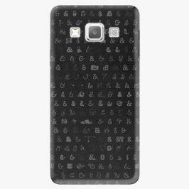 Plastový kryt iSaprio - Ampersand 01 - Samsung Galaxy A3