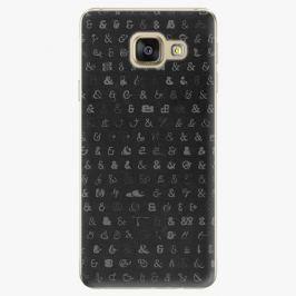 Plastový kryt iSaprio - Ampersand 01 - Samsung Galaxy A3 2016