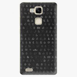 Plastový kryt iSaprio - Ampersand 01 - Huawei Mate7