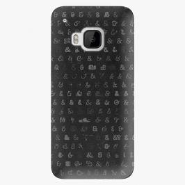 Plastový kryt iSaprio - Ampersand 01 - HTC One M9
