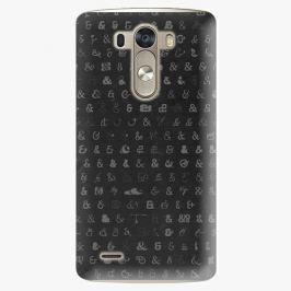 Plastový kryt iSaprio - Ampersand 01 - LG G3 (D855)