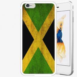 Plastový kryt iSaprio - Flag of Jamaica - iPhone 6/6S - Silver