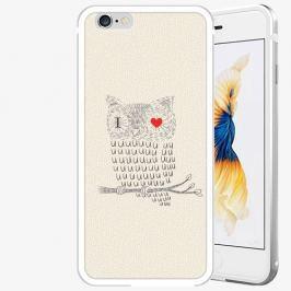 Plastový kryt iSaprio - I Love You 01 - iPhone 6 Plus/6S Plus - Silver