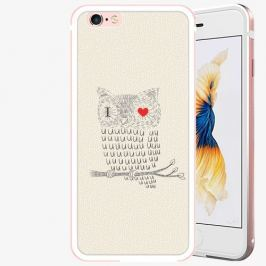 Plastový kryt iSaprio - I Love You 01 - iPhone 6 Plus/6S Plus - Rose Gold