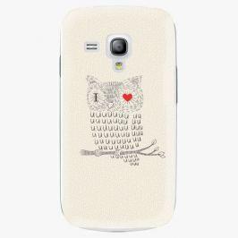 Plastový kryt iSaprio - I Love You 01 - Samsung Galaxy S3 Mini