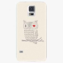 Plastový kryt iSaprio - I Love You 01 - Samsung Galaxy S5