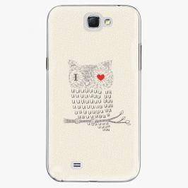 Plastový kryt iSaprio - I Love You 01 - Samsung Galaxy Note 2 Pouzdra, kryty a obaly na mobil Samsung Galaxy Note 2