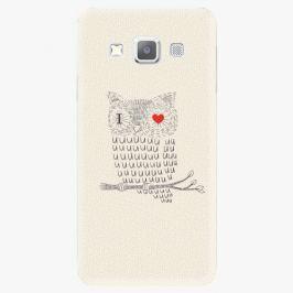 Plastový kryt iSaprio - I Love You 01 - Samsung Galaxy A3