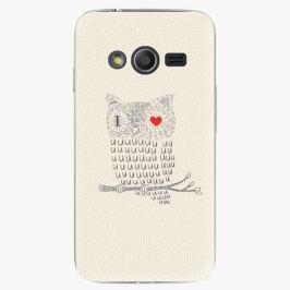 Plastový kryt iSaprio - I Love You 01 - Samsung Galaxy Trend 2 Lite