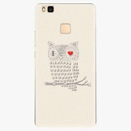 Plastový kryt iSaprio - I Love You 01 - Huawei Ascend P9 Lite