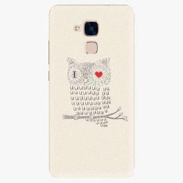 Plastový kryt iSaprio - I Love You 01 - Huawei Honor 7 Lite
