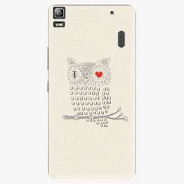 Plastový kryt iSaprio - I Love You 01 - Lenovo A7000
