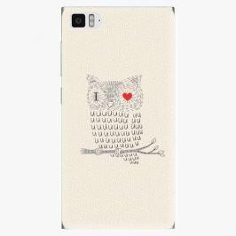 Plastový kryt iSaprio - I Love You 01 - Xiaomi Mi3