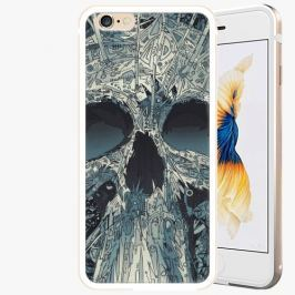 Plastový kryt iSaprio - Abstract Skull - iPhone 6/6S - Gold