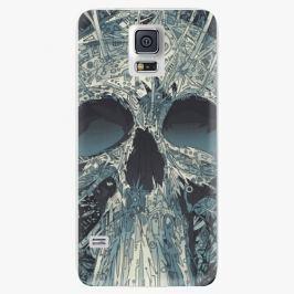 Plastový kryt iSaprio - Abstract Skull - Samsung Galaxy S5