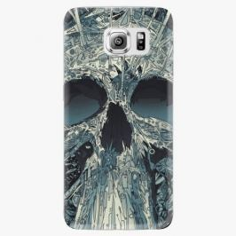 Plastový kryt iSaprio - Abstract Skull - Samsung Galaxy S6 Edge