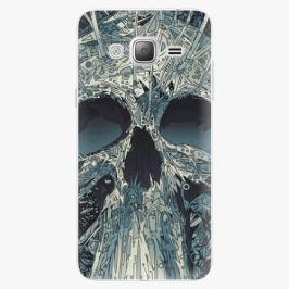 Plastový kryt iSaprio - Abstract Skull - Samsung Galaxy J3 2016