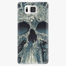 Plastový kryt iSaprio - Abstract Skull - Samsung Galaxy Alpha
