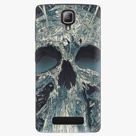 Plastový kryt iSaprio - Abstract Skull - Lenovo A1000