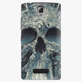 Plastový kryt iSaprio - Abstract Skull - Lenovo A2010