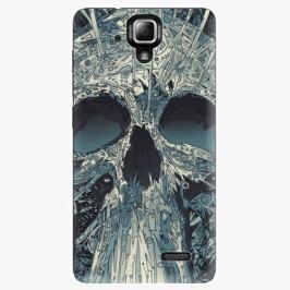 Plastový kryt iSaprio - Abstract Skull - Lenovo A536