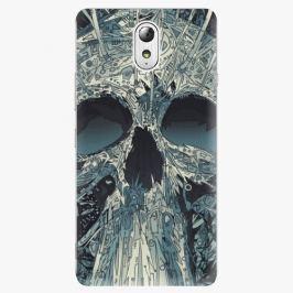 Plastový kryt iSaprio - Abstract Skull - Lenovo P1m
