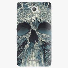 Plastový kryt iSaprio - Abstract Skull - Sony Xperia E4