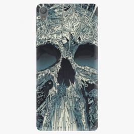 Plastový kryt iSaprio - Abstract Skull - Sony Xperia E5