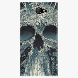 Plastový kryt iSaprio - Abstract Skull - Sony Xperia M2