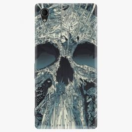 Plastový kryt iSaprio - Abstract Skull - Sony Xperia M4
