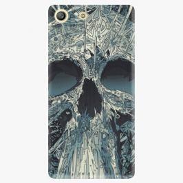 Plastový kryt iSaprio - Abstract Skull - Sony Xperia M5