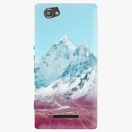 Plastový kryt iSaprio - Highest Mountains 01 - Sony Xperia M