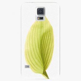 Plastový kryt iSaprio - Green Leaf - Samsung Galaxy S5