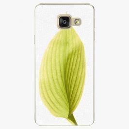 Plastový kryt iSaprio - Green Leaf - Samsung Galaxy A3 2016