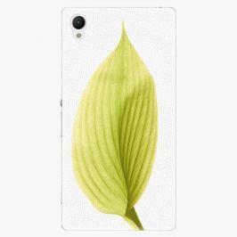 Plastový kryt iSaprio - Green Leaf - Sony Xperia Z1