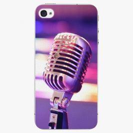 Plastový kryt iSaprio - Vintage Microphone - iPhone 4/4S