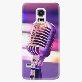 Plastový kryt iSaprio - Vintage Microphone - Samsung Galaxy S5 Mini