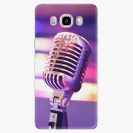 Plastový kryt iSaprio - Vintage Microphone - Samsung Galaxy J5 2016