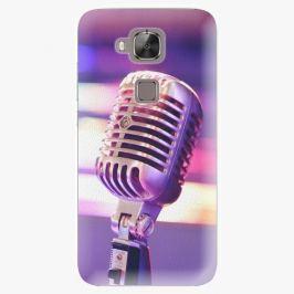 Plastový kryt iSaprio - Vintage Microphone - Huawei Ascend G8