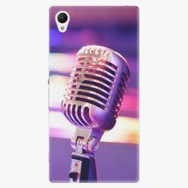 Plastový kryt iSaprio - Vintage Microphone - Sony Xperia Z1 Compact