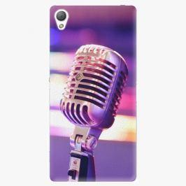 Plastový kryt iSaprio - Vintage Microphone - Sony Xperia Z3