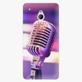 Plastový kryt iSaprio - Vintage Microphone - HTC One Mini
