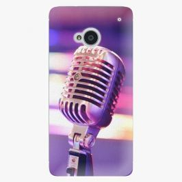 Plastový kryt iSaprio - Vintage Microphone - HTC One M7
