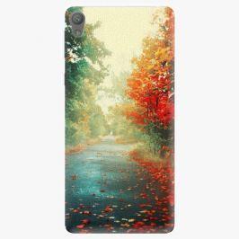 Plastový kryt iSaprio - Autumn 03 - Sony Xperia E5 Pouzdra, obaly a kryty na mobilní telefon Sony Xperia E5