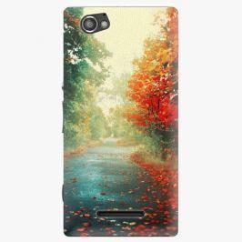 Plastový kryt iSaprio - Autumn 03 - Sony Xperia M Pouzdra, obaly a kryty na mobilní telefon Sony Xperia M