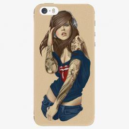 Plastový kryt iSaprio - Girl 03 - iPhone 5/5S/SE Pouzdra, kryty a obaly na mobil Apple iPhone 5/5S/SE